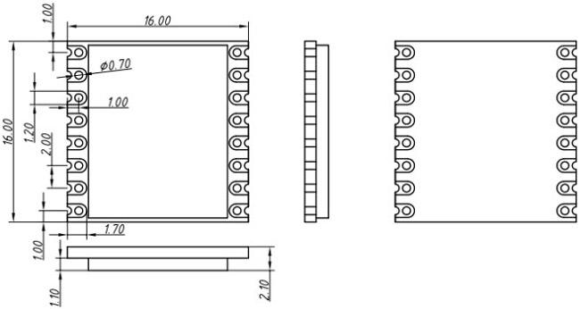 FCC 915 modül